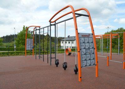 Photo - Aménagement parcours fitness