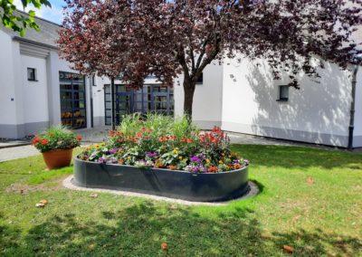 Photo - Centre Culturel Hosingen - bac à fleurs