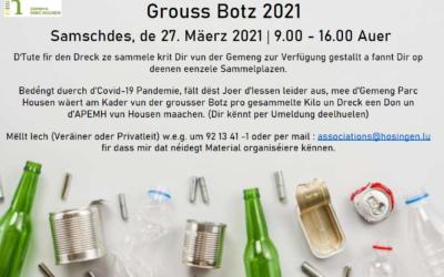 Grouss Botz 2021 |  27.03.2021