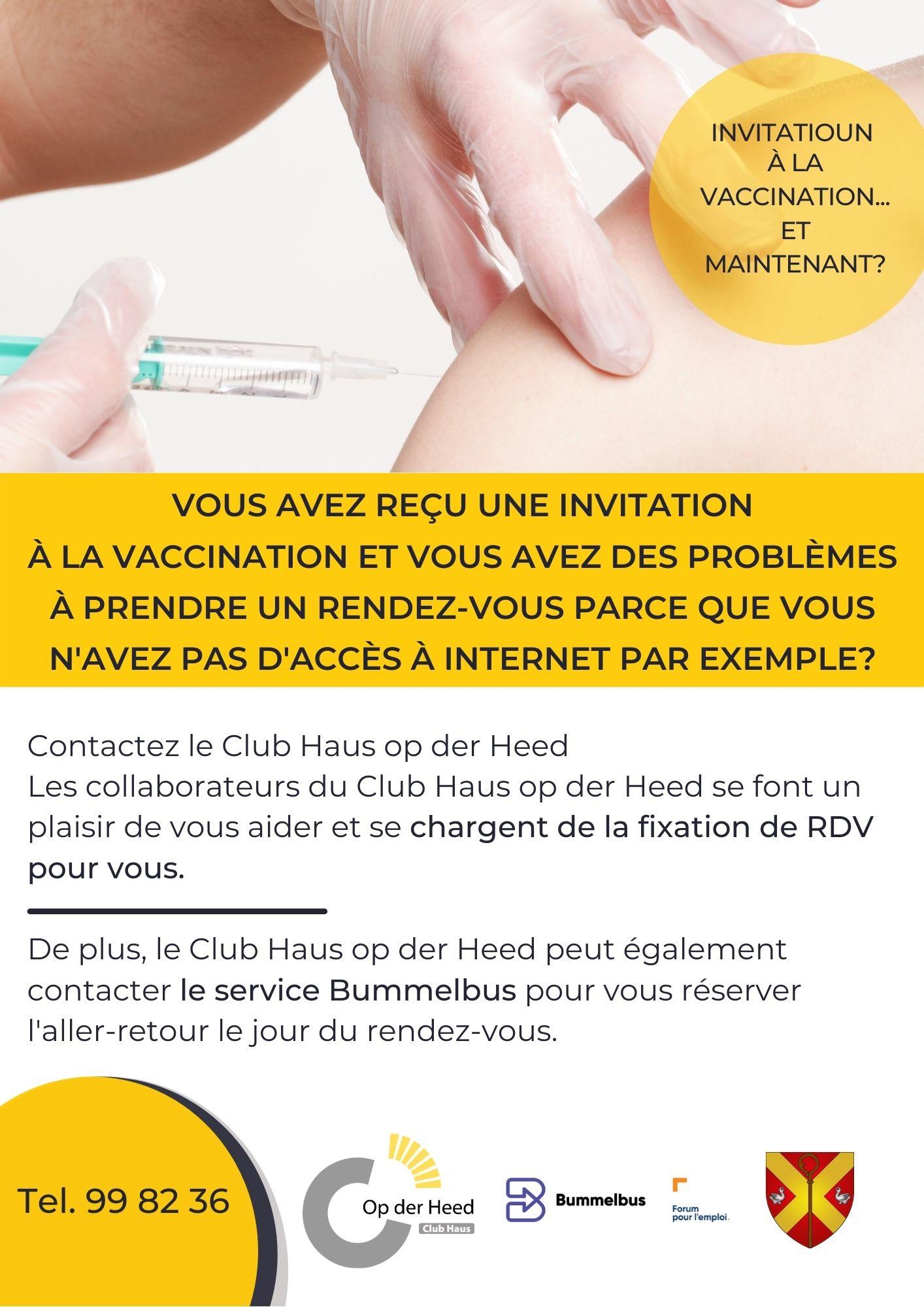 Invitatioun fir d'Impfung. An elo ?
